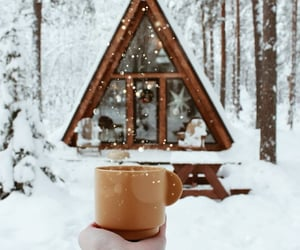 coffee, happy holidays, and merry christmas image