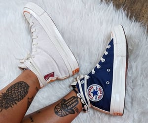 chaussures, converse, and mode image