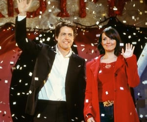 love actually, hugh grant, and movie image