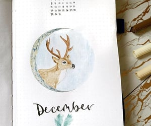 art, artsy, and december image
