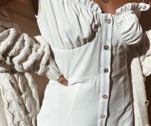 clothing, denim, and dress image