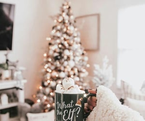 december, decoration, and marshmallow image