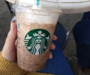 cold, starbucks, and winter image