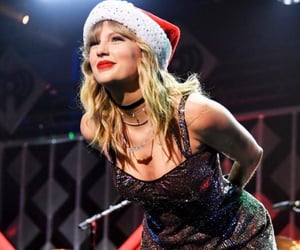 Taylor Swift, christmas, and lover image