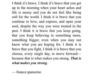quotes, brave, and strong image