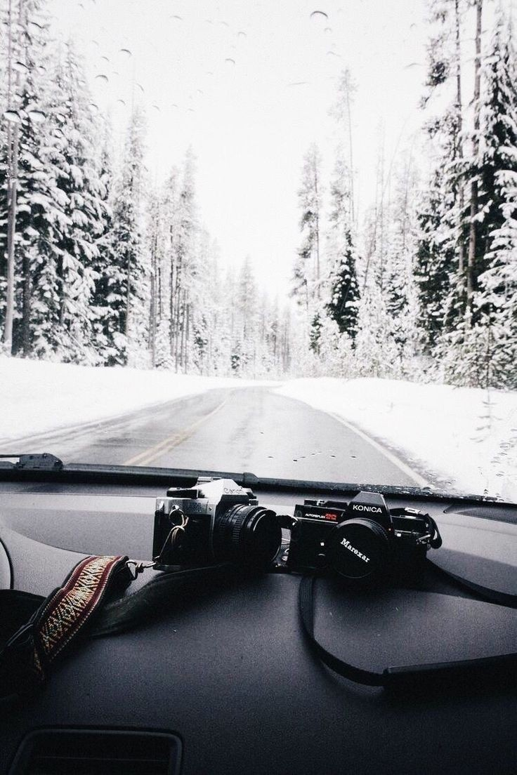 aesthetic, photoshoot, and snow image
