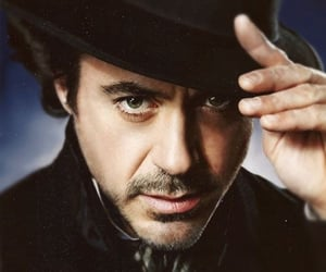 robert downey jr. and sherlock holmes image