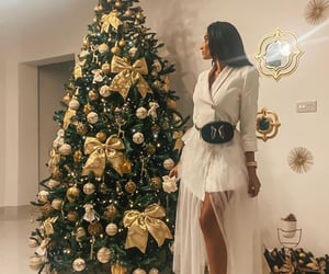 christmas, Couture, and dress image