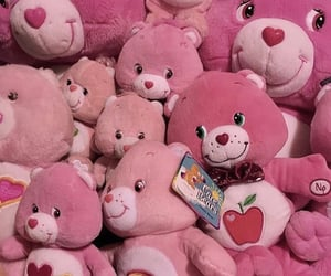 pink, care bears, and cute image