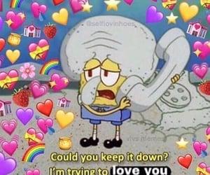 meme, heart, and hearts image