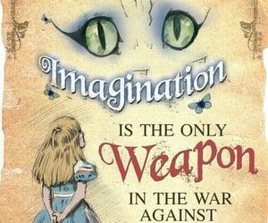 alice in wonderland, alice, and imagination image