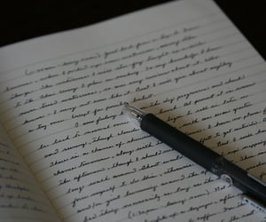 aesthetic, journal, and writing image