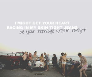 teenage dream, katy perry, and beach image