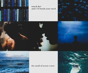 aesthetic, boy, and blue image