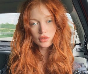 beautiful, indie, and redhead image