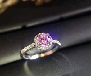 wedding ring, halo engagement ring, and proposal ring image