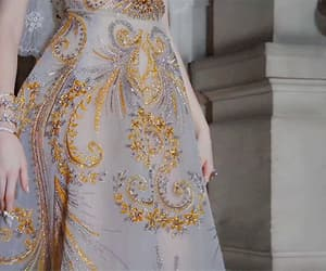 aesthetic, Couture, and detail image