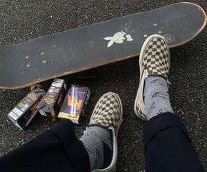 aesthetic, skateboard, and Playboy image