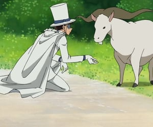 anime, detective conan, and kaito kid image
