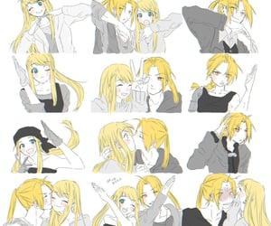 anime, kiss, and fma image