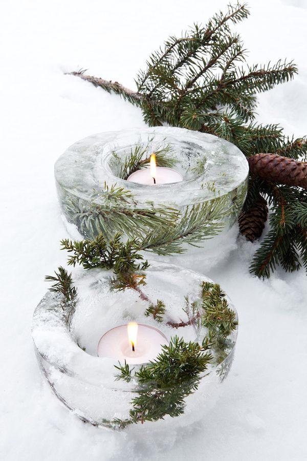 christmas, candle, and decor image