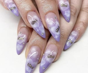 nails, beauty, and cool image