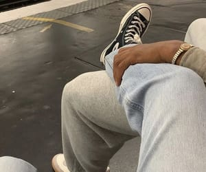 couple, aesthetic, and jeans image