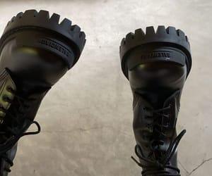 Balenciaga, boots, and model image