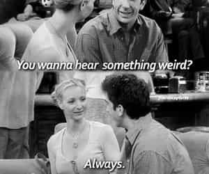 friends, phoebe buffay, and ross geller image