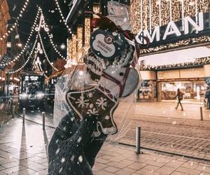 christmas, christmas lights, and europe image
