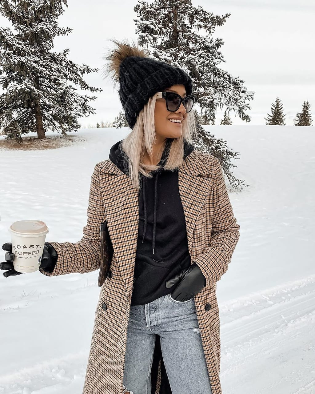 coat, fashion, and woman girl image