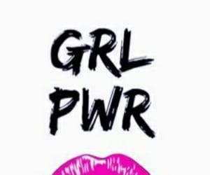 lips, wallpaper, and girlpower image