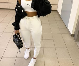 Balenciaga, clothes, and jogging image