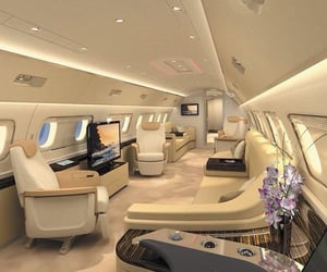 luxury, rich, and jet image