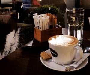 aesthetic, cappuccino, and coffee image