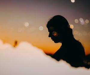 portrait, pretty, and sun image