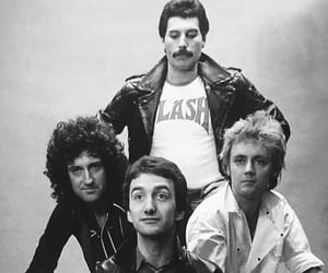 band, Queen, and 80s image