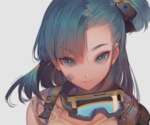 anime girl, arts, and dragon ball bulma image