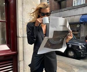 black, fashion, and reading image