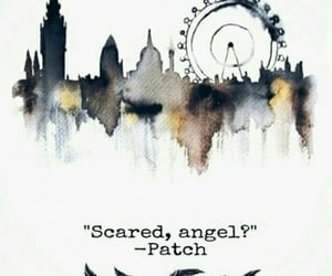 patch, scared, and angel? image