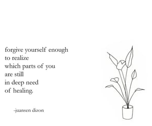 quotes and healing image