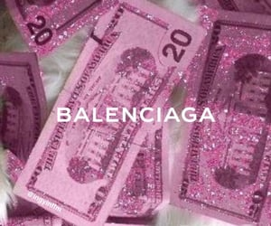 Balenciaga, aesthetic, and glitter image