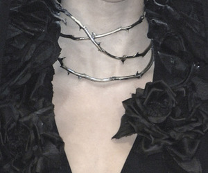 thorns and rose image