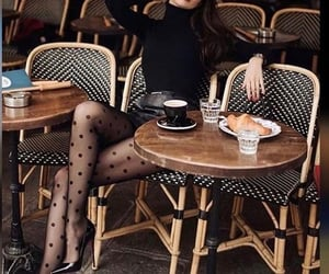 beauty, cafe, and fashion image