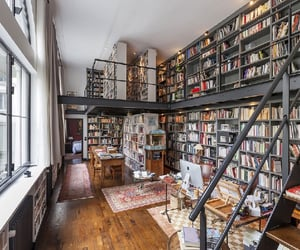 library, books, and Dream image