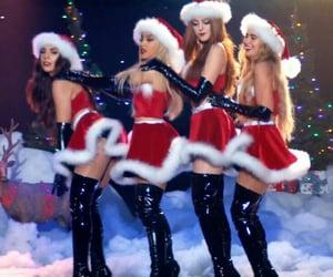 christmas, girls, and ariana grande image