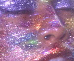 glitter, aesthetic, and makeup image