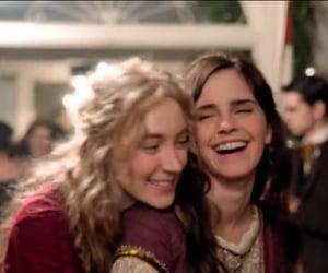 emma watson and Saoirse Ronan image