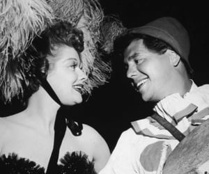 desi arnaz and Lucille Ball image