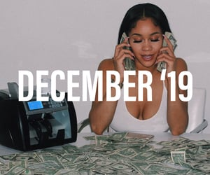 dollars, money, and playlist image